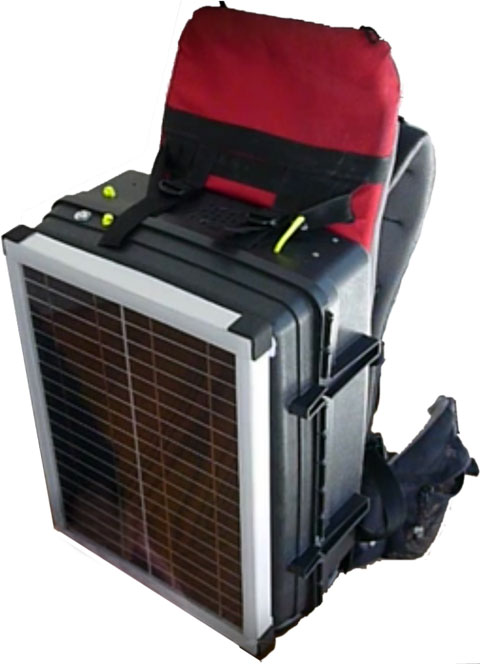Portable Solar Charging Pack