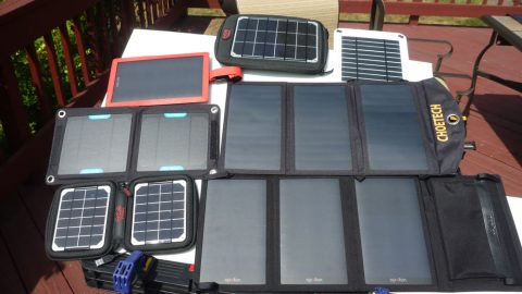 Portable Folding Solar Panel Chargers Tested – The Results