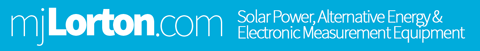 MJLorton Solar Power and Electronic Measurement Equipment Forum